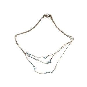 Banana Republic Multi strand Necklace w/beads
